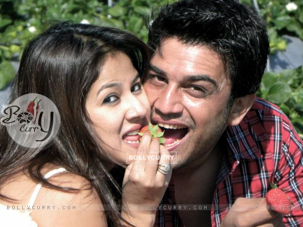 Sharad Kelkar and Keerti