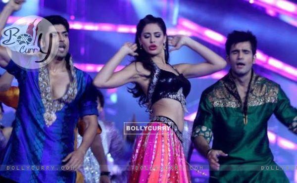 Gurmeet, Nargis and Karan