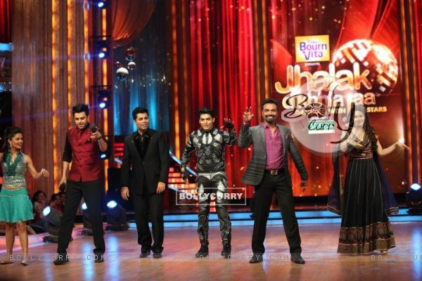 Madhuri, Remo, Gurmeet, Karan and Manish