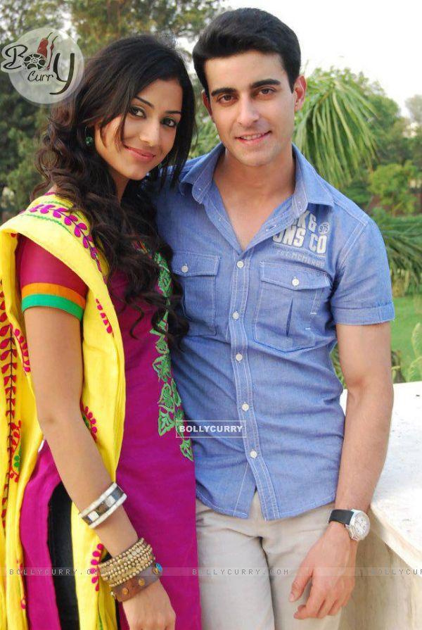 Gautam and Mala in the show teri meri love stories