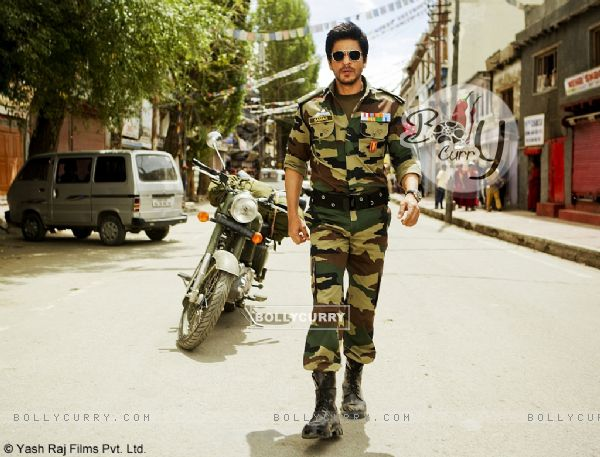 Shah Rukh Khan shooting for Yash Chopra's untitled directorial film