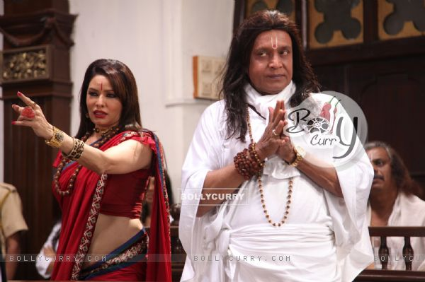 Poonam Jhawer and Mithun Chakraborty in OMG! Oh My God