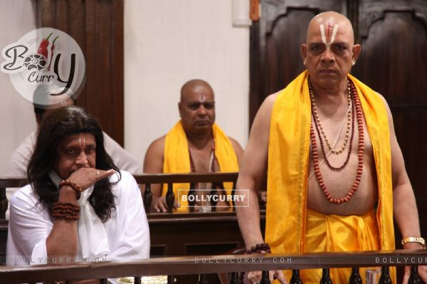 Mithun Chakraborty and Govind Namdeo in OMG! Oh My God