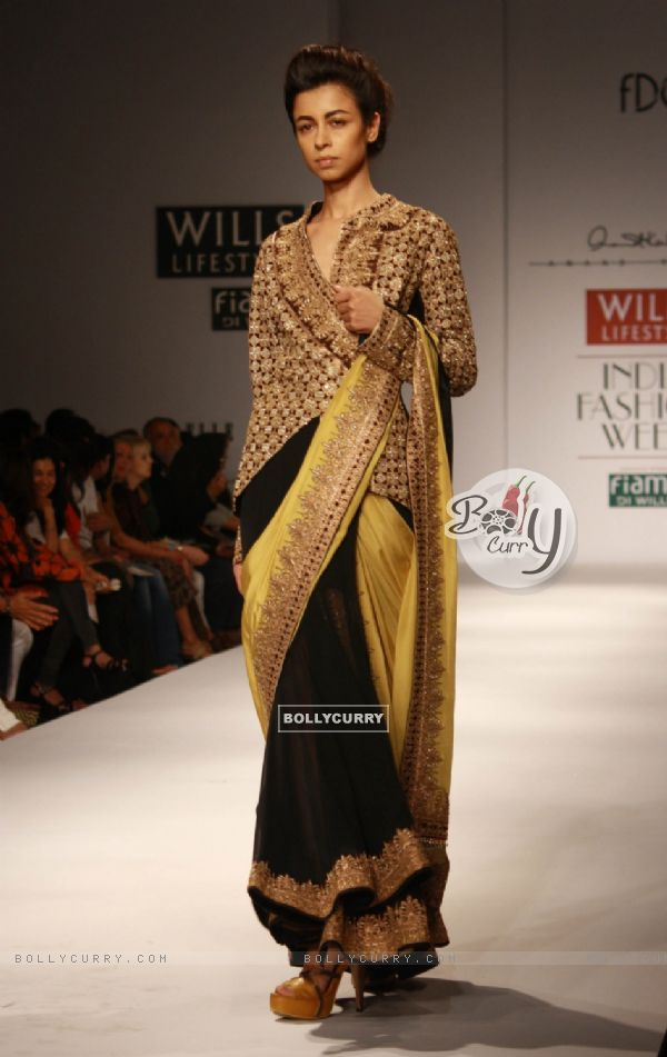 Bollycurry Designer Anand Kabra Wills Lifestyle India Fashion Week 2013 In New Delhi Photo