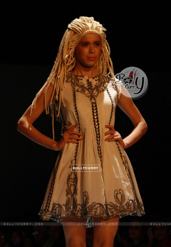 Bollycurry Designer Kavita Bhartia Wills Lifestyle India Fashion Week 2013 In New Delhi