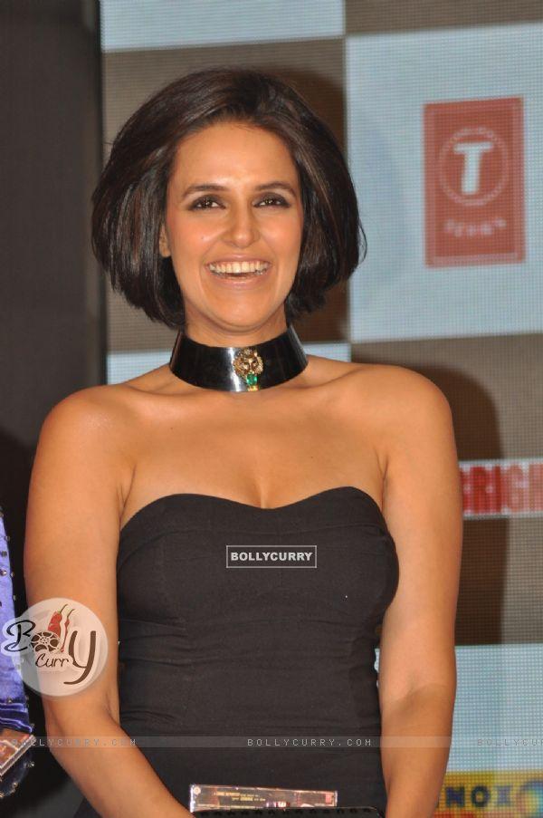 Neha Dhupia at film Rush music launch in Hotel JW Marriott Juhu (230605)