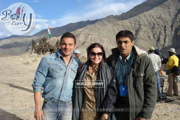 Mohnish, Ektaa and Sohail