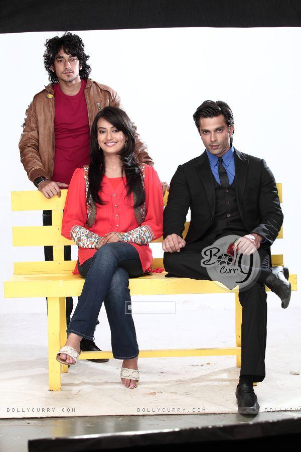 Karan, Surbhi and Rishab