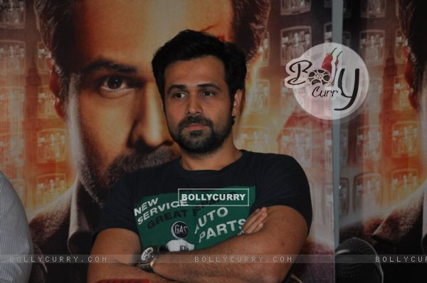 Emraan Hashmi at film RUSH press meet at Mehboob Studios in Bandra, Mumbai. (234879)
