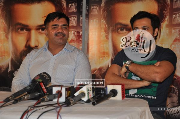 Emraan Hashmi at film RUSH press meet at Mehboob Studios in Bandra, Mumbai. (234880)