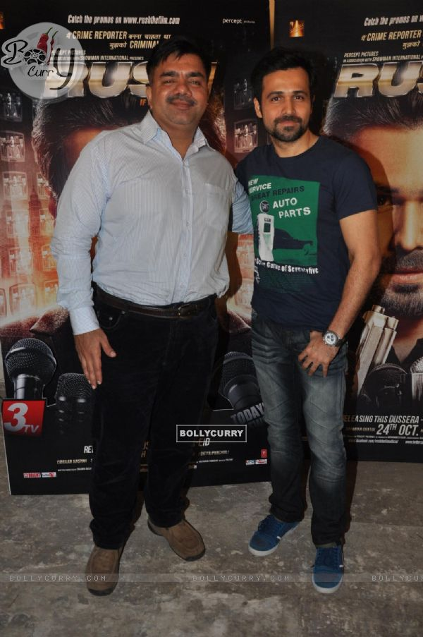 Emraan Hashmi at film RUSH press meet at Mehboob Studios in Bandra, Mumbai. (234881)