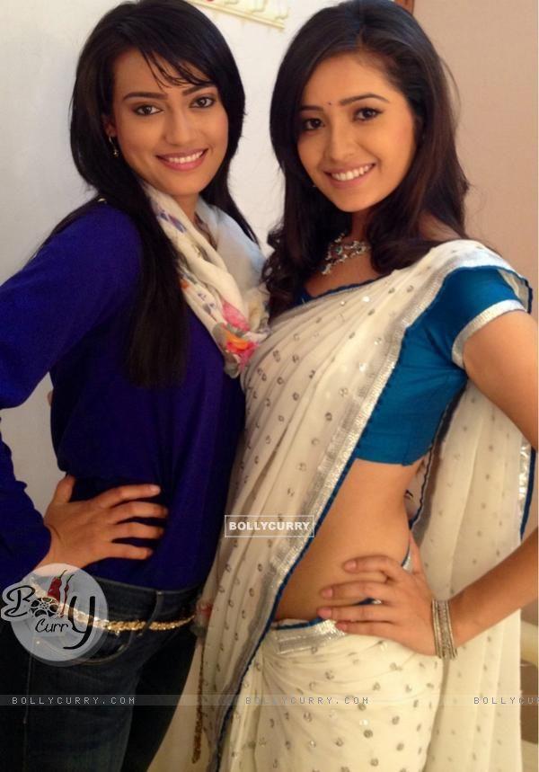 Asha Negi with Surbhi