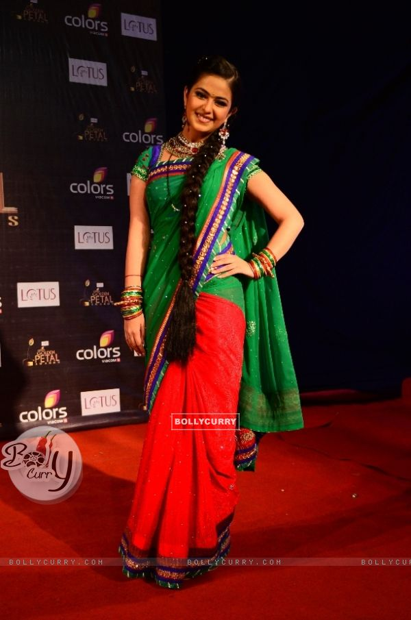 Avika Gor as Roli of Sasural Simar Ka at Colors Golden Petal