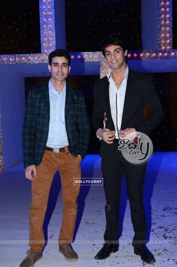 Gautam Rode and Karan Wahi as the host of the show Nach Baliye 5