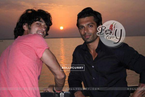 Karan Singh Grover & Rishabh