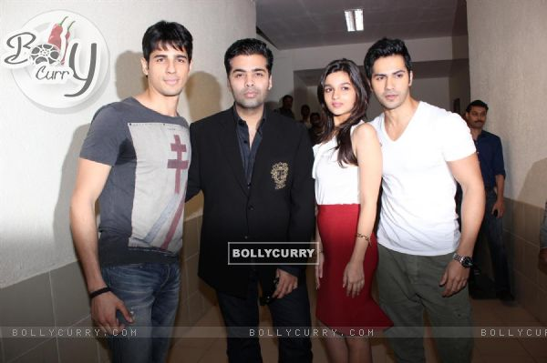 Alia, Varun, Karan and Siddharth