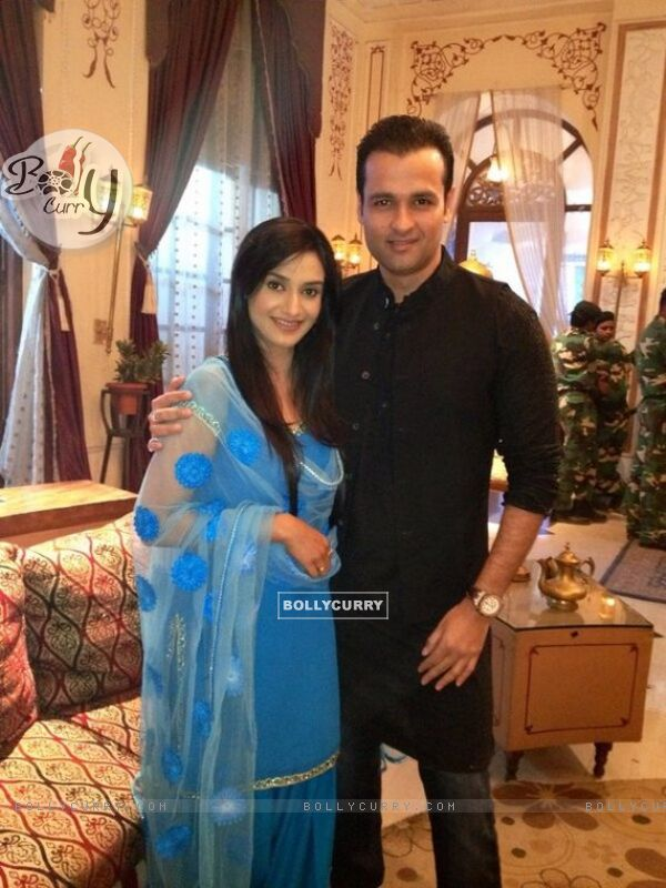 Rai Pandey and Rohit Roy