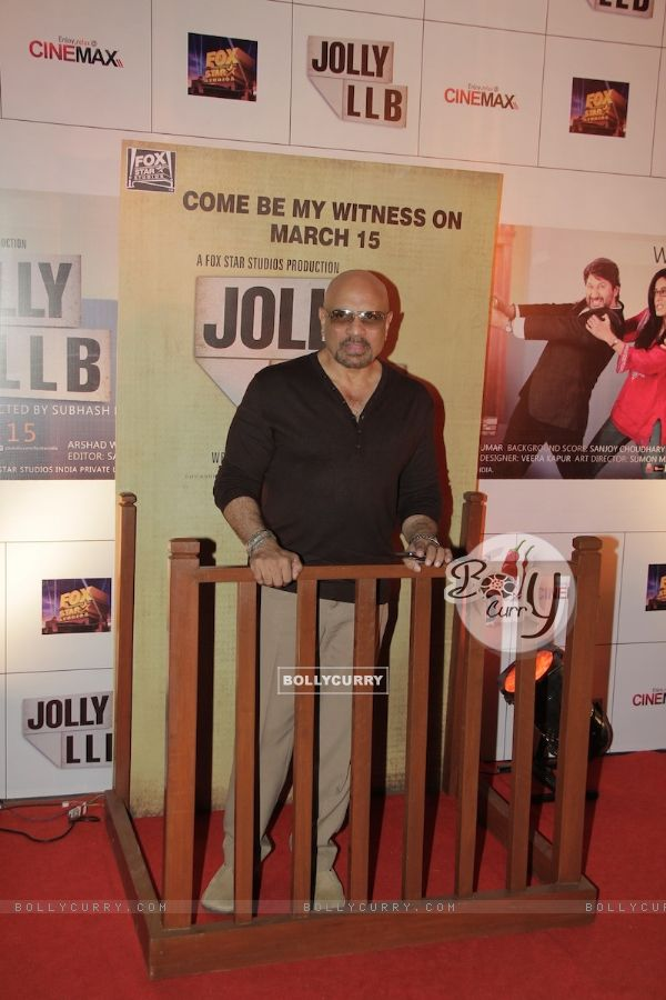 Bharat Dabholkar at Premiere of movie Jolly LLB (271755)