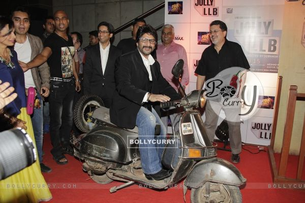 Arshad Warsi at Premiere of movie Jolly LLB (271759)