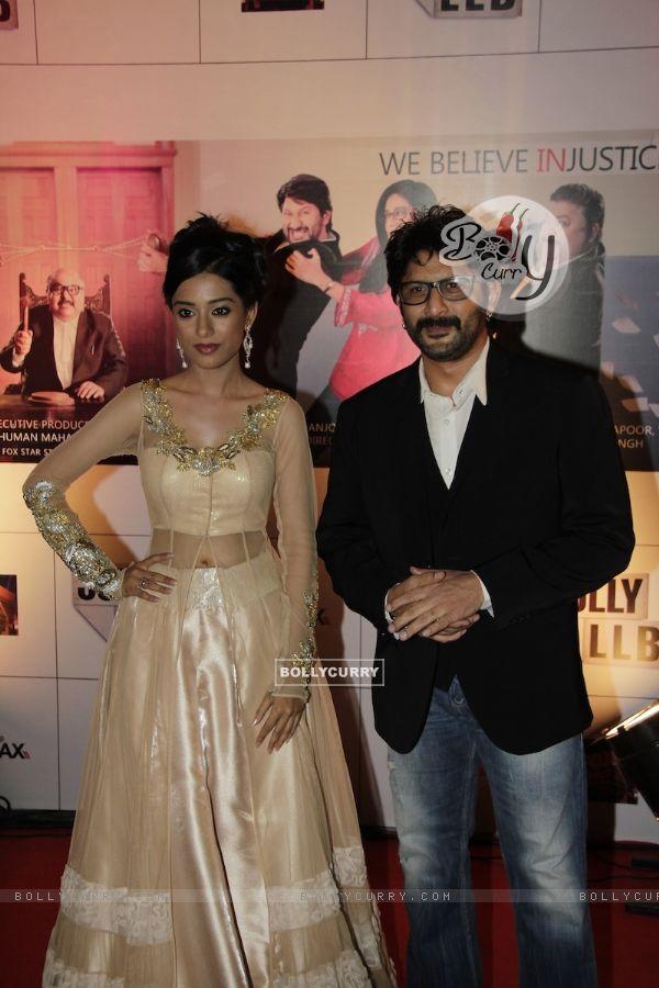 Arshad Warsi and Amrita Rao at Premiere of movie Jolly LLB (271766)