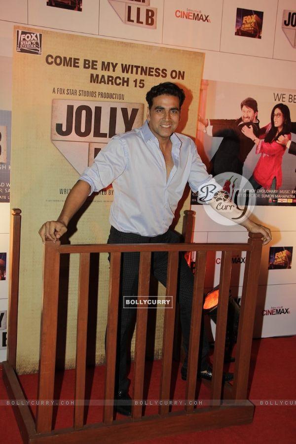 Akshay Kumar at Premiere of movie Jolly LLB (271772)