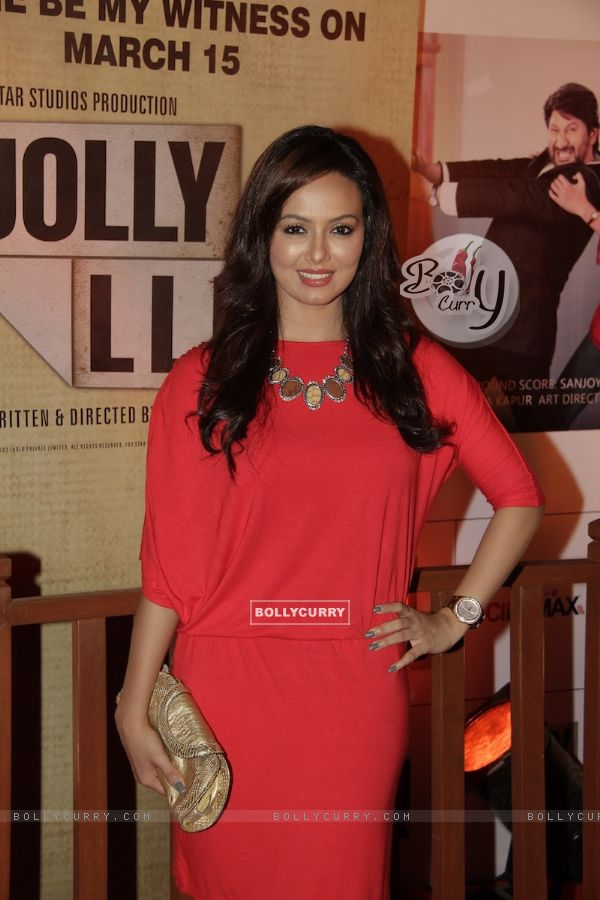 Sana Khan at Premiere of movie Jolly LLB (271774)