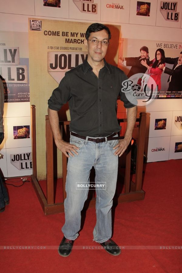 Rajat Kapoor at Premiere of movie Jolly LLB (271775)