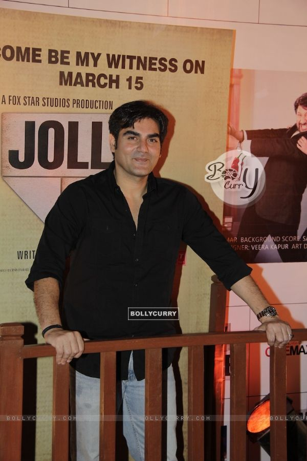 Arbaaz Khan at Premiere of movie Jolly LLB (271777)