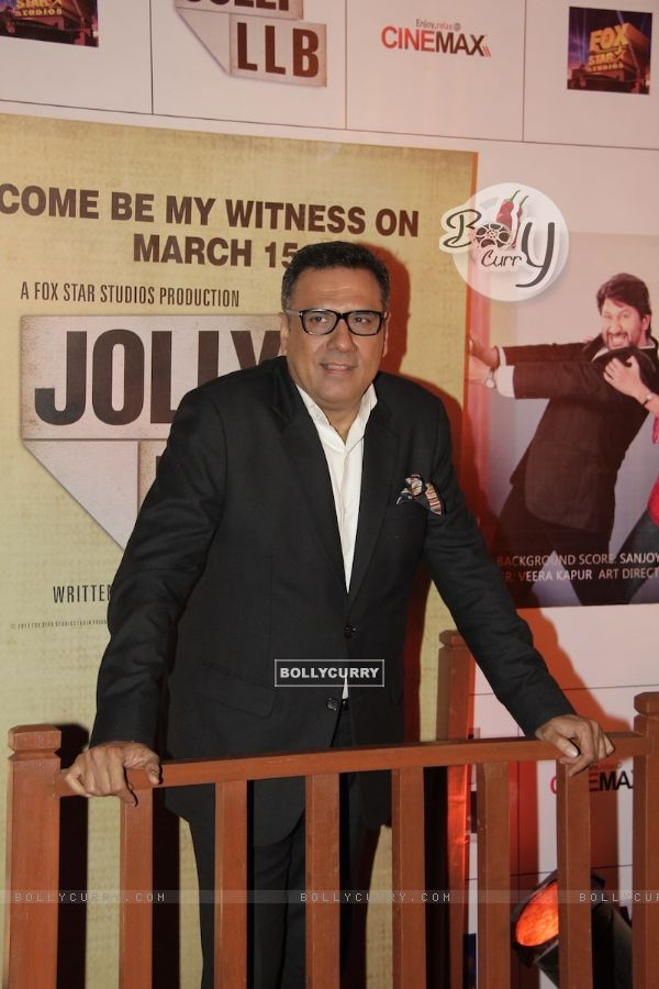 Boman Irani at Premiere of movie Jolly LLB (271783)