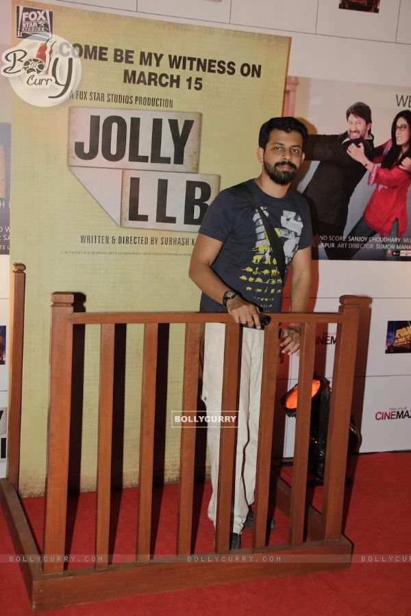 Bijoy Nambiar at Premiere of movie Jolly LLB (271787)