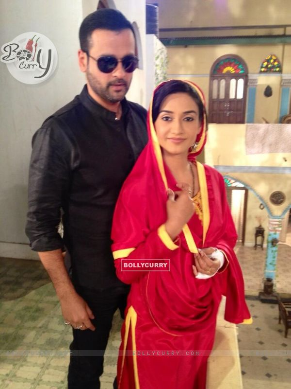 Rati Pandey and Rohit Roy