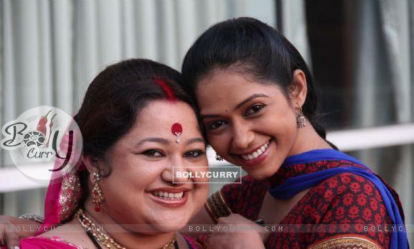 Yashashri with Supriya
