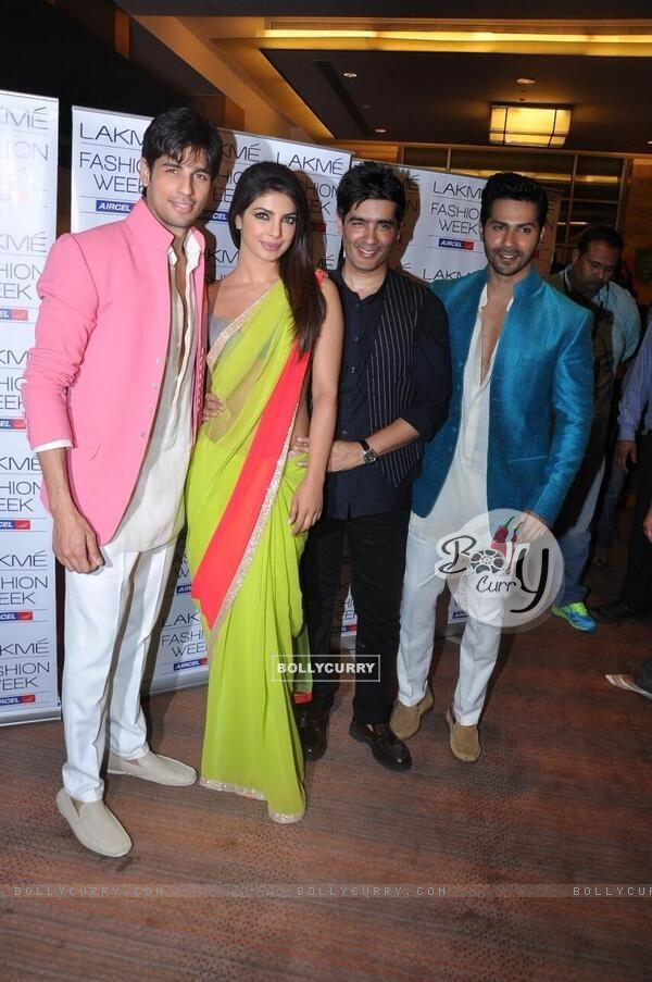Siddharh, Priyanka, Manish and Varun