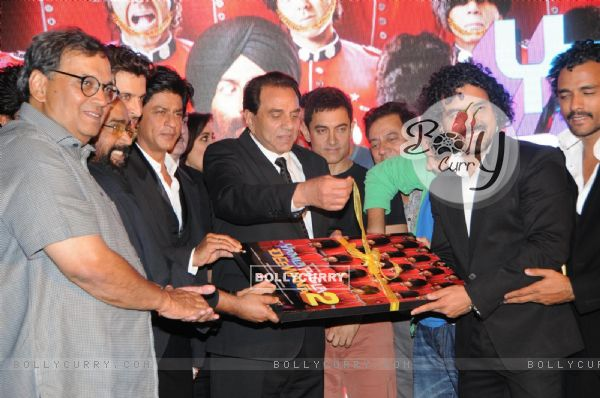 Film Yamla Pagla Deewana 2 music launch ceremony (279411)