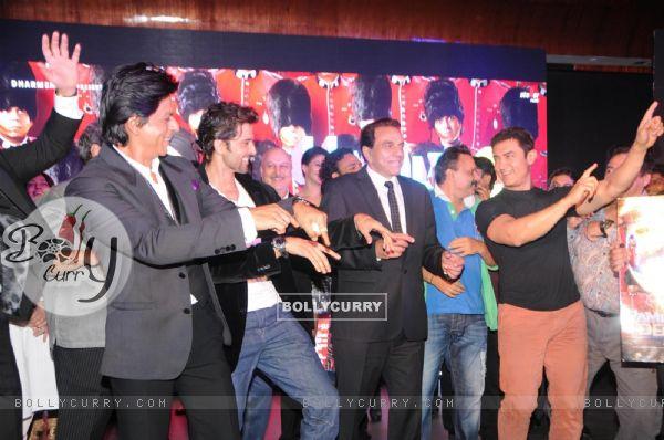 Film Yamla Pagla Deewana 2 music launch ceremony (279412)