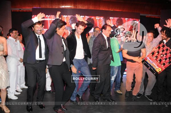 Film Yamla Pagla Deewana 2 music launch ceremony (279414)