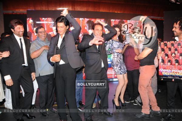 Film Yamla Pagla Deewana 2 music launch ceremony