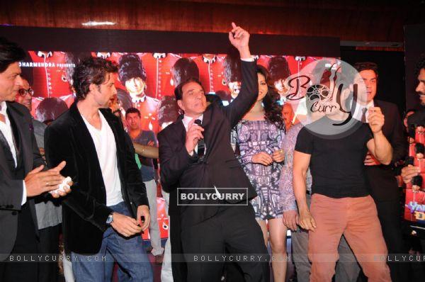 Film Yamla Pagla Deewana 2 music launch ceremony