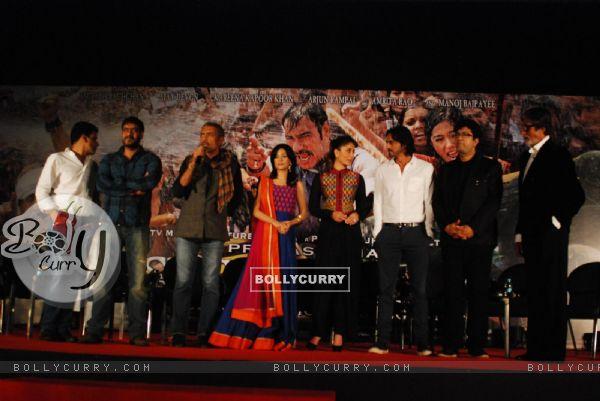 Launch of the song Raghupati Raghav Raja Ram from Satyagraha (288382)