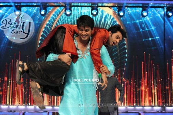 Siddharth Shukla and Manish Paul