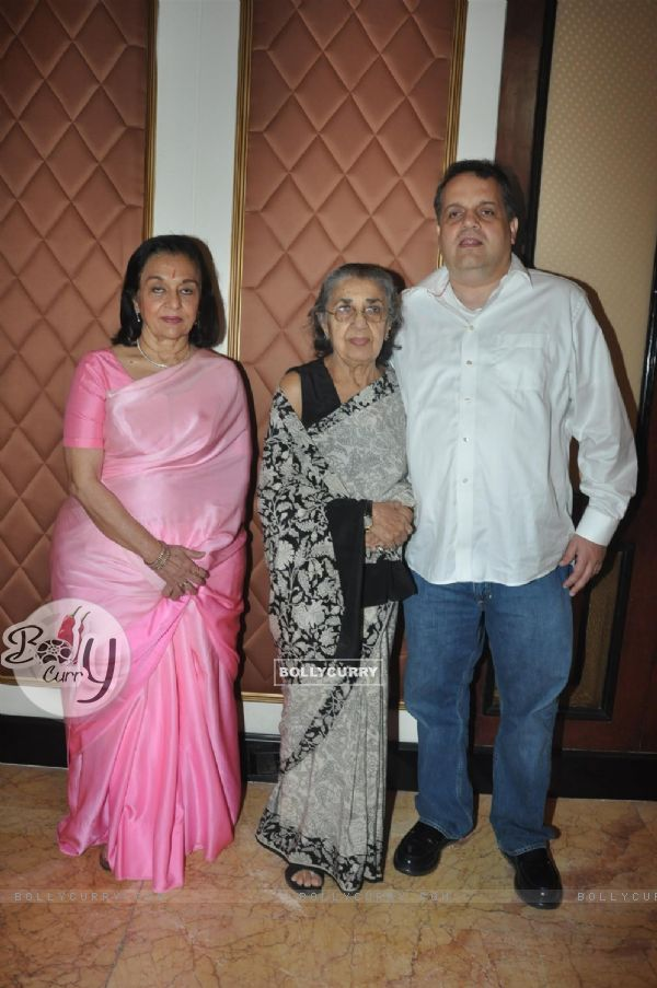 Asha Parekh, Shammi at Unveiling of the Statue of Rajesh Khanna