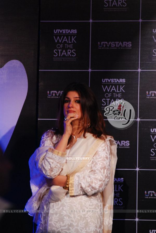 Twinkle Khanna at the Unveiling of the Statue of Rajesh Khanna