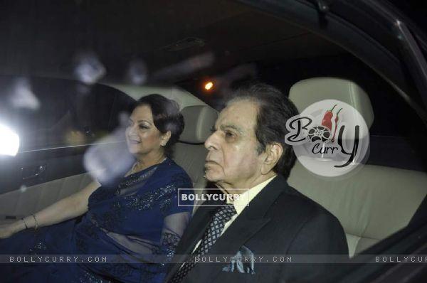 Saira Banu and Dilip Kumar at Shahrukh Khan's Grand Eid Party