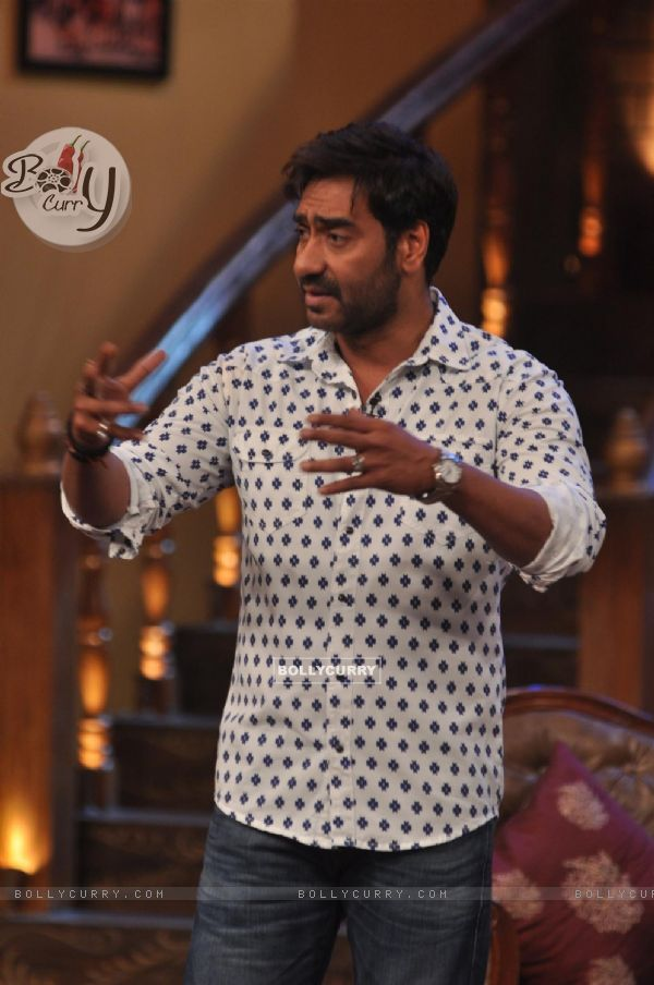 Ajay Devgn at Satyagraha's  Promotion on Comedy Nights with Kapil (292070)