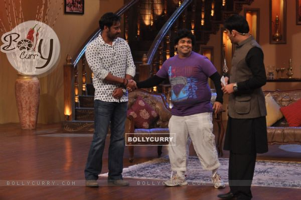 Ajay Devgn at Satyagraha's  Promotion on Comedy Nights with Kapil (292071)