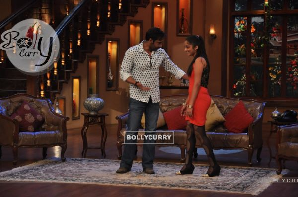Ajay Devgn at Satyagraha's  Promotion on Comedy Nights with Kapil (292073)