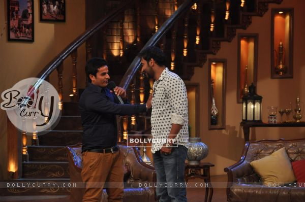 Ajay Devgn at Satyagraha's  Promotion on Comedy Nights with Kapil (292075)
