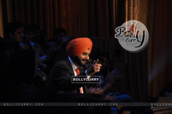 Navjot Singh Siddhu at Satyagraha's  Promotion on Comedy Nights with Kapil (292076)