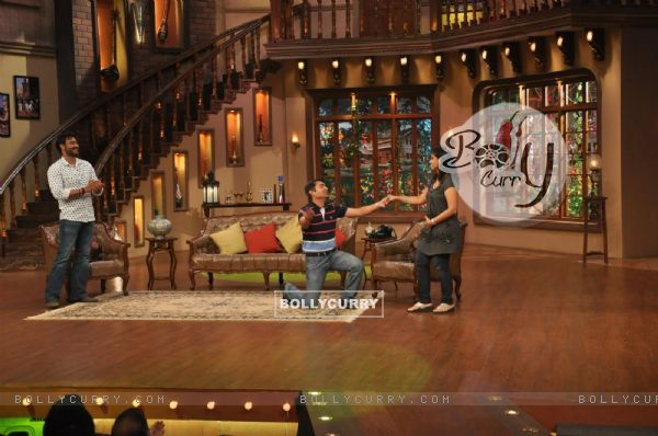 Ajay Devgn at Satyagraha's  Promotion on Comedy Nights with Kapil (292077)