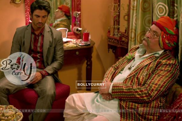 Sushant Singh and Rishi Kapoor